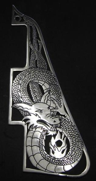 Handmade Metal Pickguards